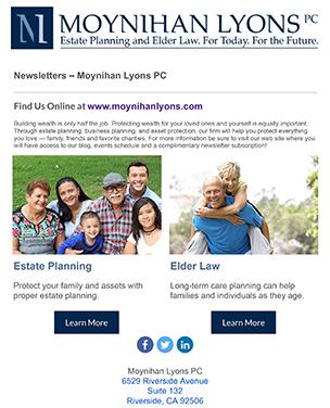 Moynihan Lyons PC Newsletter