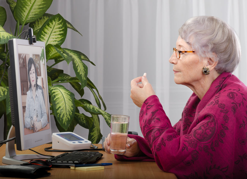 Older Female Veteran - Telehealth